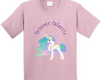 My Little Pony Princess Celestia  T Shirt