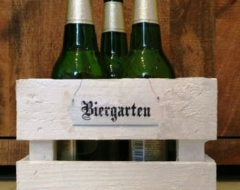Gifts for men, beer garden, crate, bottle cage, wooden crate, gift box, present, birthday, crate, present basket, gift basket