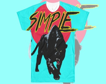 Simple Cat All Over T-Shirt