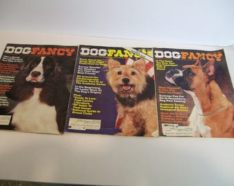 Dog Fancy Magazine year 1982