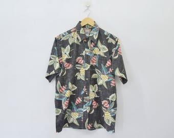 REYN SPOONER Shirt Vintage Reyn Spooner 'Commemorative Classics' Hawaiian Traditionals Style Buttons Down Hawaiian Shirt Size M