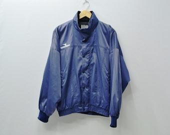 Diadora Jacket Men Size L Vintage Diadora Windbreaker 90s Diadora Vintage Jacket Activewear Size L