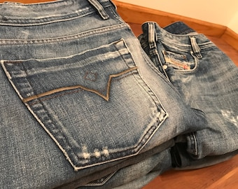 Diesel Jeans mens LOT of 7 pairs Good condition Package deal