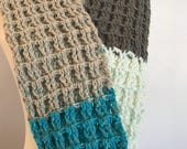 Wear it long or as an infinity scarf | Winter Fashion Accessories | Crocheted
