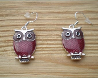 Bohemian Owl Earrings, Jewelry Findings