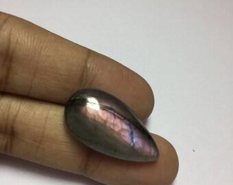 30% OFF Natural Purple Labradorite,28x15 mm Pear Shape With Multi Flash Labradorite,Nice Quality Purple Labradorite Cabochon #SAH551