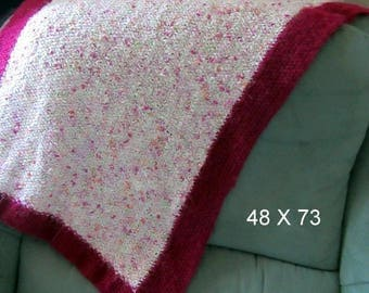 small pink blanket