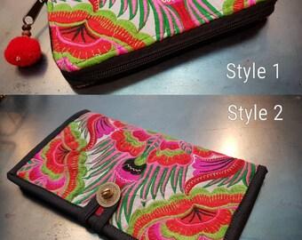 Purse Boho, ethnic purse, embroidered purse