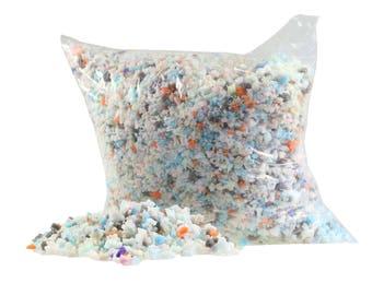 500 g filling material filling foam flakes polyurethane filling