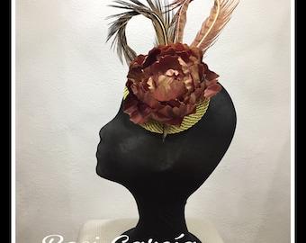 Headdress feathers