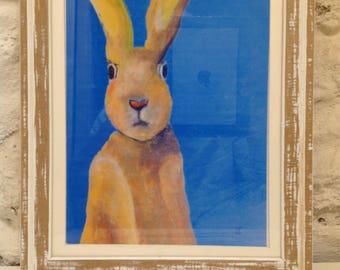 Rabbit under a Greek sky - under greek sky