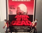 Dawn of the Dead 40th Anniversary Poster Apocalypse display