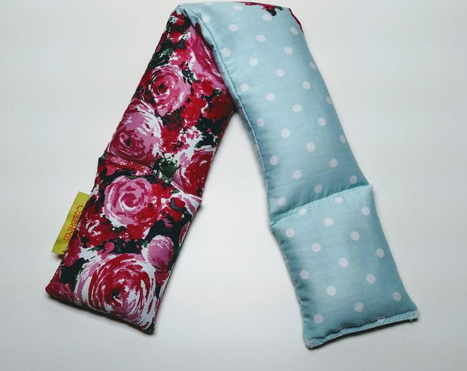 Rose CushArm Relaxation Neck and Body Wrap  Heat or Freeze