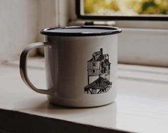 The Burrow - Harry Potter - Enamel Mug