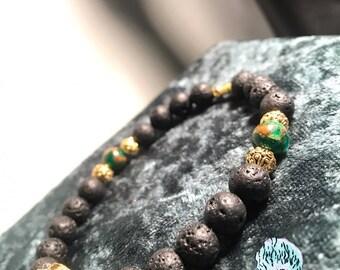 Lava Lion Bracelet