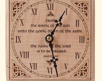 Square Celtic Clock
