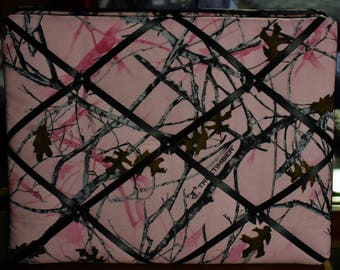 12x16 Pink Camo Memory Board