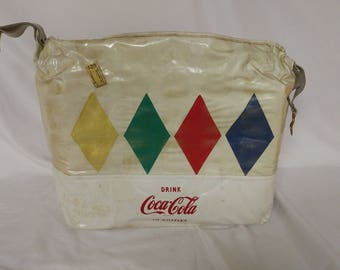 Retro Advertising 1970s Era Coca-Cola Soft Cooler Promotional Item