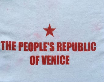 Venice California shirt-People's republic of Venice