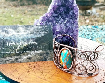 Turqouise & Spiny Oyster Cuff