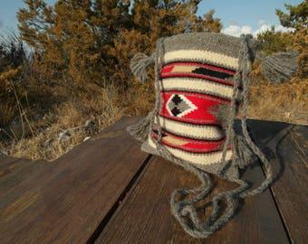Bosnian hand woven bag