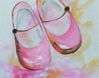 Ballet shoe pink
