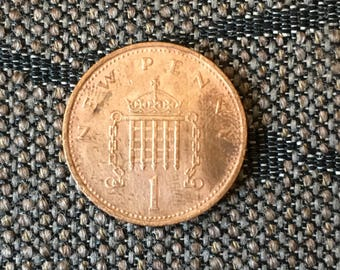 1979 Great Britain United Kingdom 1 New Penny Coin