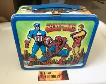 Vintage Marvel Comics Secret Wars Lunchbox