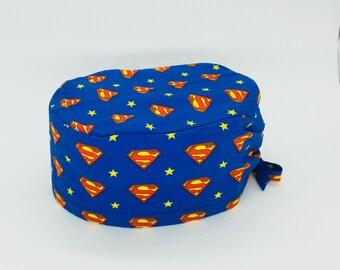 Surgical cap-Surgical cap-Superman Logo