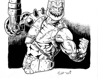 Trap-Jaw from He-Man & The Masters Of The Universe.