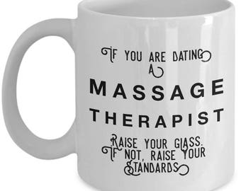 if you are dating a Massage Therapist raise your glass. if not, raise your standards - Cool Valentine's Gift