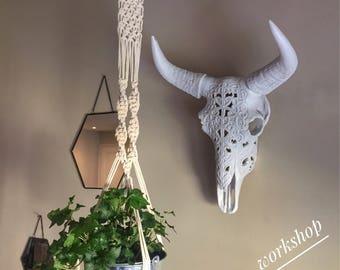 Macrame hanger