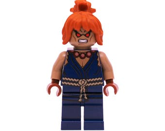 LEGO Minifigures Custom Street Fighter - Akuma Made with Original LEGO Parts