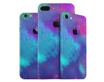 Watercolor iPhone Case Skin - Colorful iPhone case Skin  for iPhone 7, 7 Plus, 6, 6 Plus, SE, 5, 4