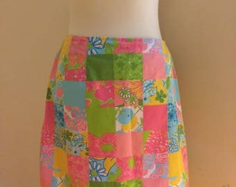 LILLY PULITZER Patchwork Skirt
