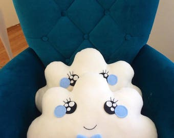Decorative Baby Boy Cloud Pillow