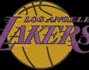 LOSANGELES LACKERS EMBROIDERY