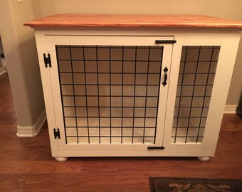 Custom Wooden Dog Kennel