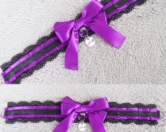 Valentine's Day kitten play collar