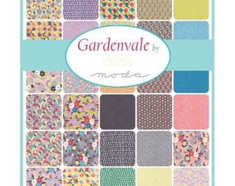 SET of 42 squares PATCHWORK 25.4X25.4 CM GARDENVALE by MODA