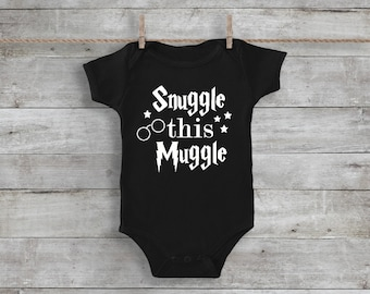Snuggle This Muggle, Harry Potter Onesie, Harry Potter Shirt, Muggle Shirt, Harry Potter