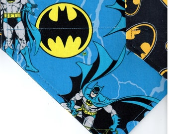 Batman Superhero Bandana | Custom Dog Bandana | Custom Custom Dog Bandana