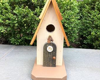 Whimsical birdhouses | Etsy