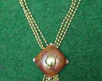 Vintage Copper Necklace