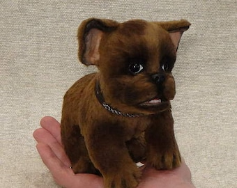 Sold. Valley small puppy. Toy, little Dog, Terrier , dog, plush dog, plush toy, teddy puppy