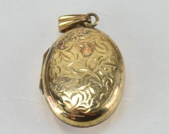 Vintage 9CT / 9K Yellow Gold Locket