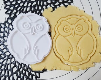 Owl Cutter and Stamp
