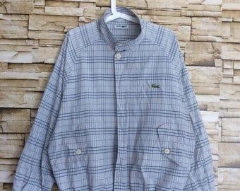 Sale Vintage CHEMISE LACOSTE Harrington jacket