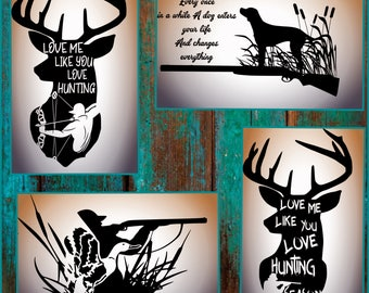 Hunting SVG file - Deer Hunting SVG - Duck Hunting svg- Hunting svg files made for Cricut and other cutting machines