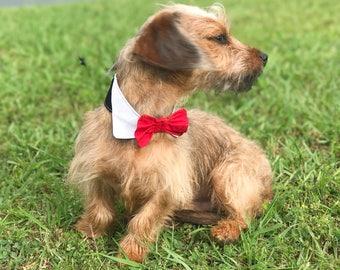 Dog Bowtie - Dog Bow Tie Wedding - Dog Wedding Attire - Dog Bow Tie - Dog Bowtie Collar - Dog Bowties - Wedding Dog Collar